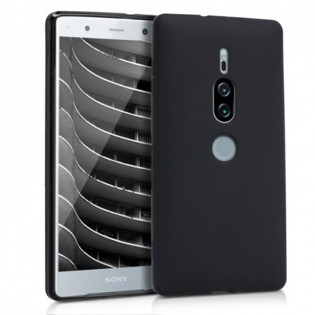 Husa TPU Silicon pentru Sony Xperia XZ2 Negru