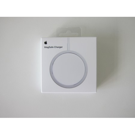 Set Incarcator magsafe 20w iphone 12 Pro 12 pro Max 12 mini + adaptor apple Alb retail box