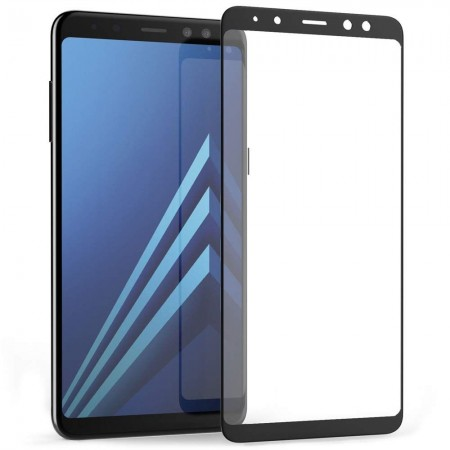 Folie sticla securizata Samsung Galaxy  j4 2018, 3D, Negru