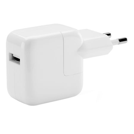 Adaptor/incarcator Apple, 220v-USB, md836zm/a, 12W pentru iPhone/iPad/iPod, Alb