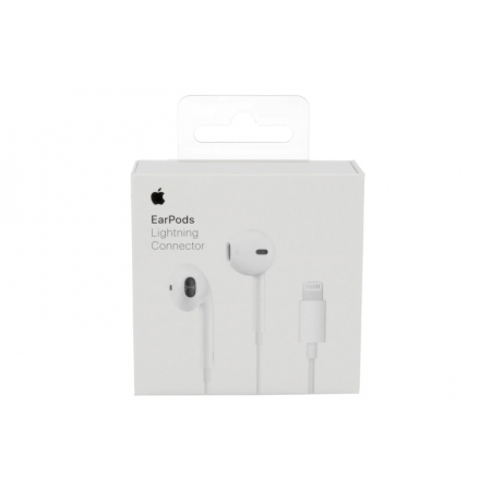Casti Earphones pentru Iphone 7/7Plus/8/8Plus/X Lightning MMTN2ZM/A alb,Blister Apple
