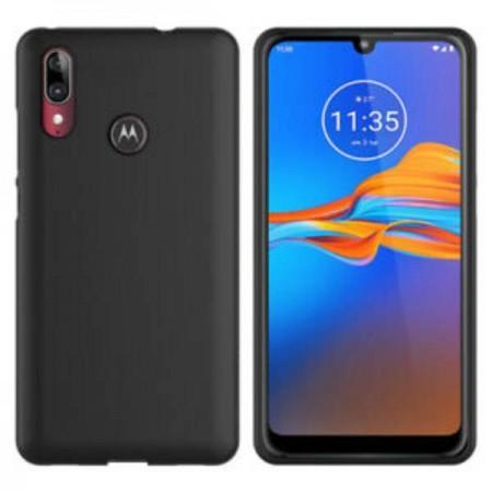 Husa TPU Silicon pentru Motorola E6 Plus Negru