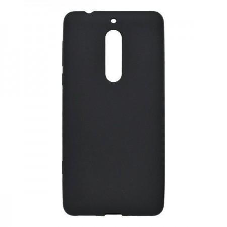 Husa TPU Silicon pentru Nokia 5.1 Negru