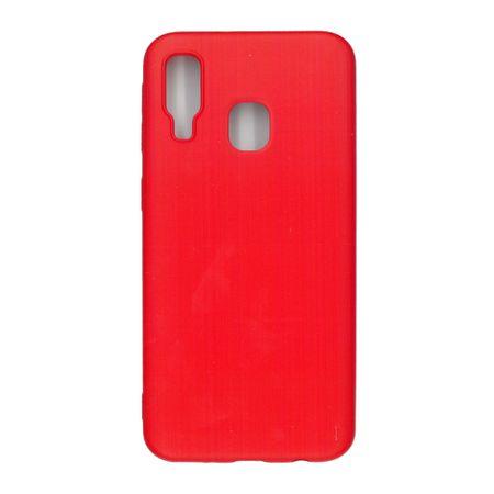 Husa TPU pentru Samsung A40, Rosu , Liquid Silicone