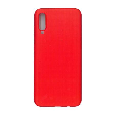 Husa TPU pentru Samsung A70, Rosu , Liquid Silicone