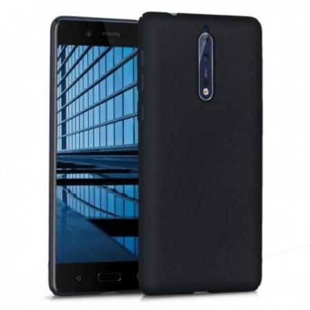 Husa TPU Silicon pentru Nokia 8 Negru