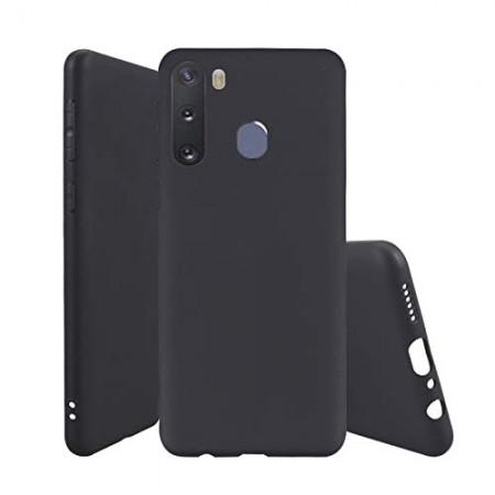 Husa TPU Silicon pentru Samsung A21 Negru